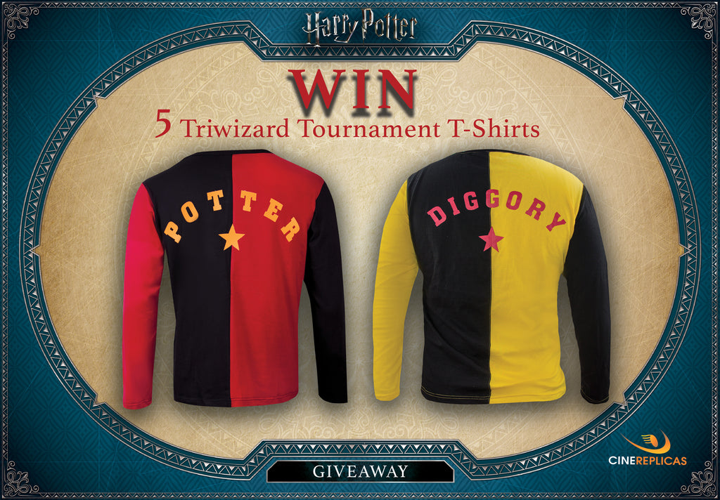 Giveaway triwizard tournament tshirt win