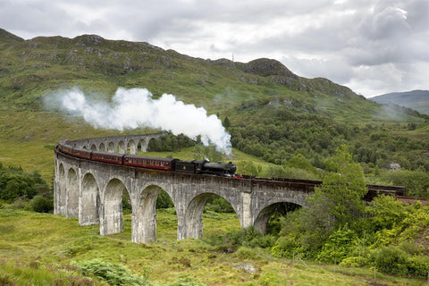 Jacobite Steam Train Glenfinnan Viaduct Hogwarts Express