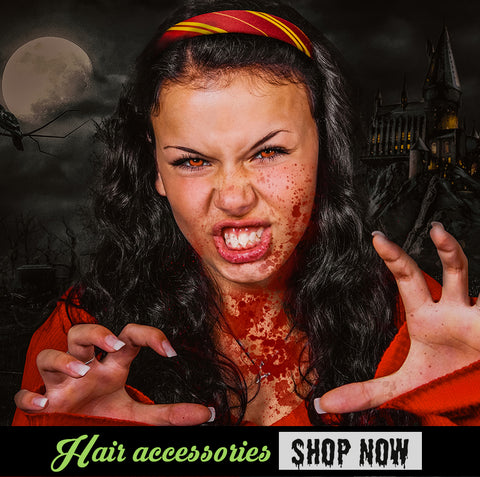 Halloween essentials Harry Potter hair accessories