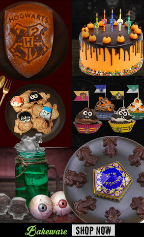 Halloween essentials Harry Potter bakeware
