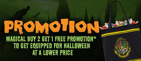 Halloween essentials Harry Potter promotion