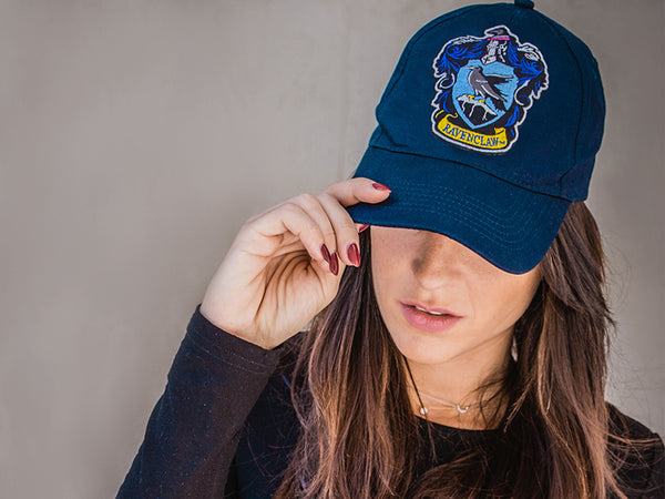 Harry Potter patches on cap