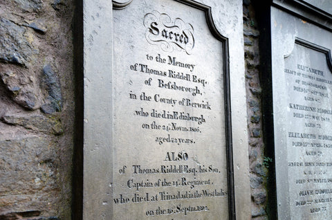 Harry Potter Edinburgh Tom Riddle Greyfriars Kirkyard