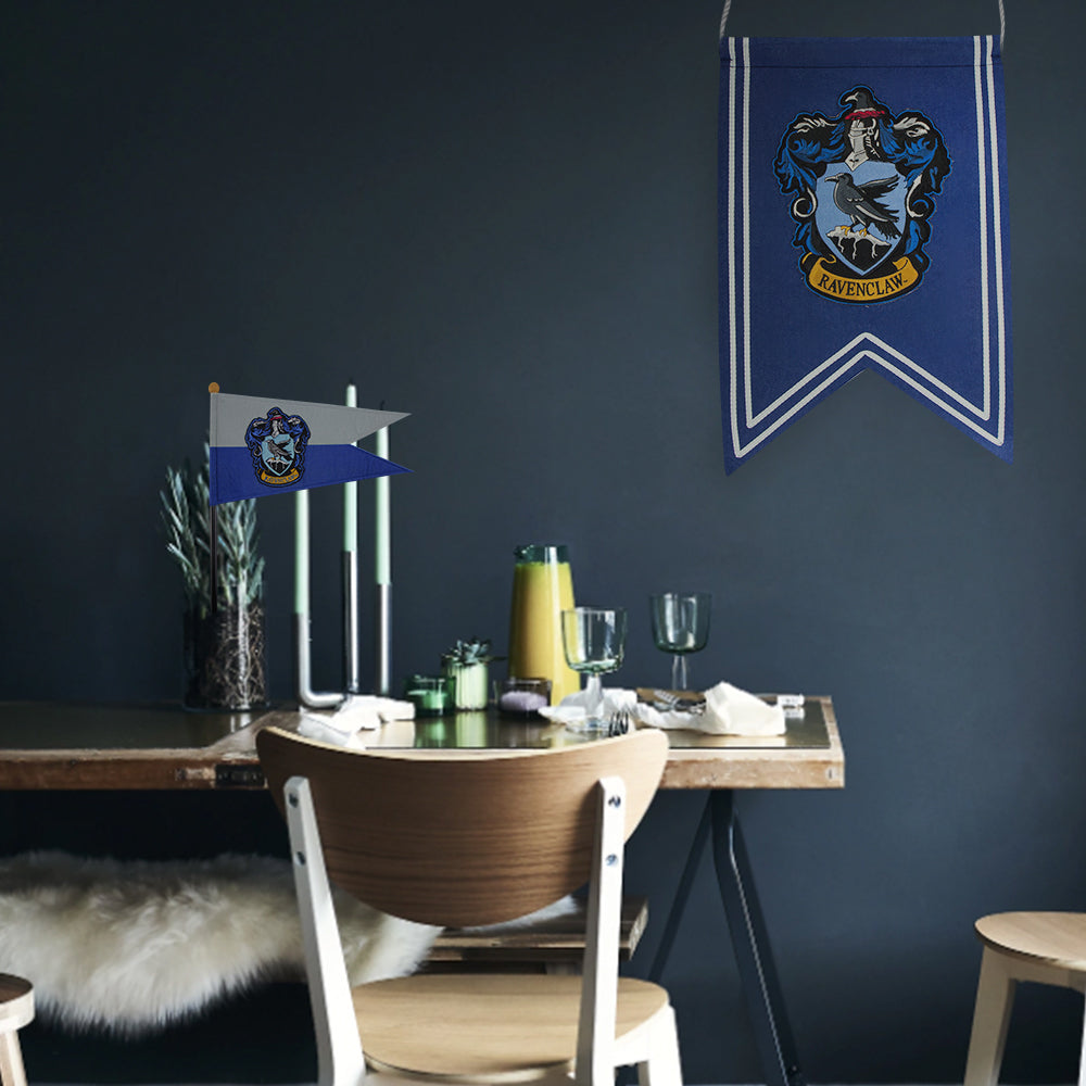 . Harry Potter Decoration   Ravenclaw Banner   Flag Set   Cinereplicas