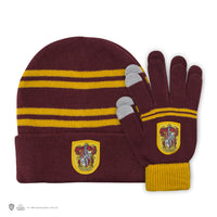 Kids - Gryffindor Gloves and Beanie Set
