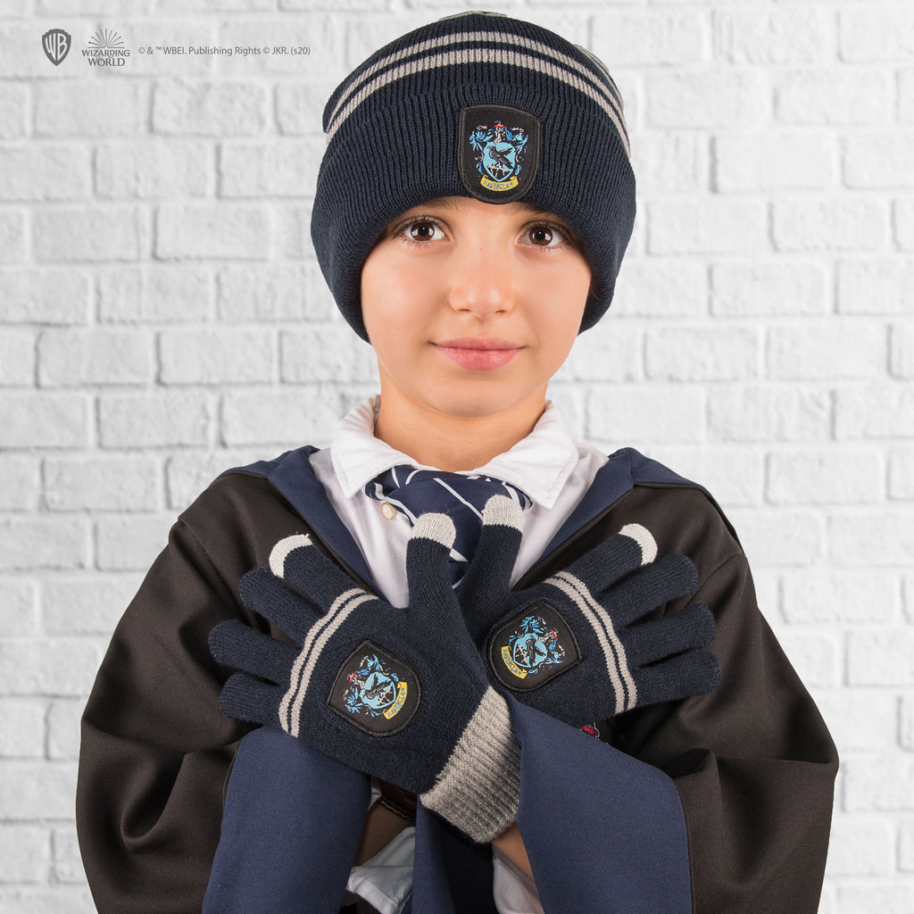 Kids - Ravenclaw Gloves and Beanie Set