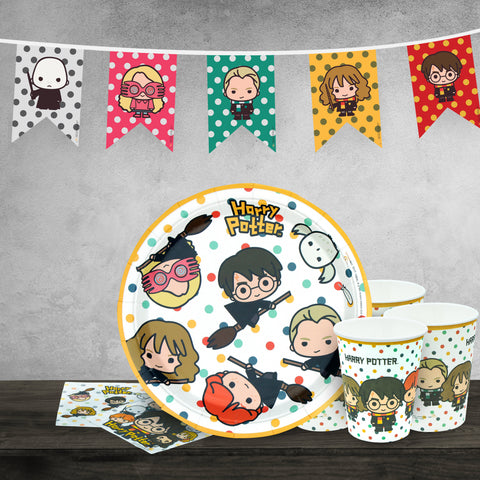Harry Potter birthday set Kawaii