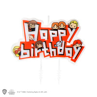 Characters Birthday Candles (Set of 10 + 1 Happy Birthday)