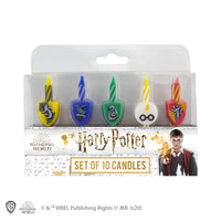 Birthday Candles (Set of 10) - Hogwarts Houses