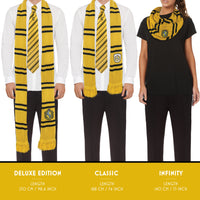 Harry Potter Hufflepuff Infinity Scarf size chart