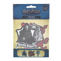 harry potter patch/crests DARK ARTS packaging