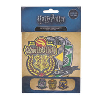 harry potter patch/crest quidditch hogwarts packaging