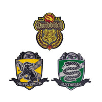 Harry Potter Deluxe Edition Crests/Patches -  QUIDDITCH HOGWARTS