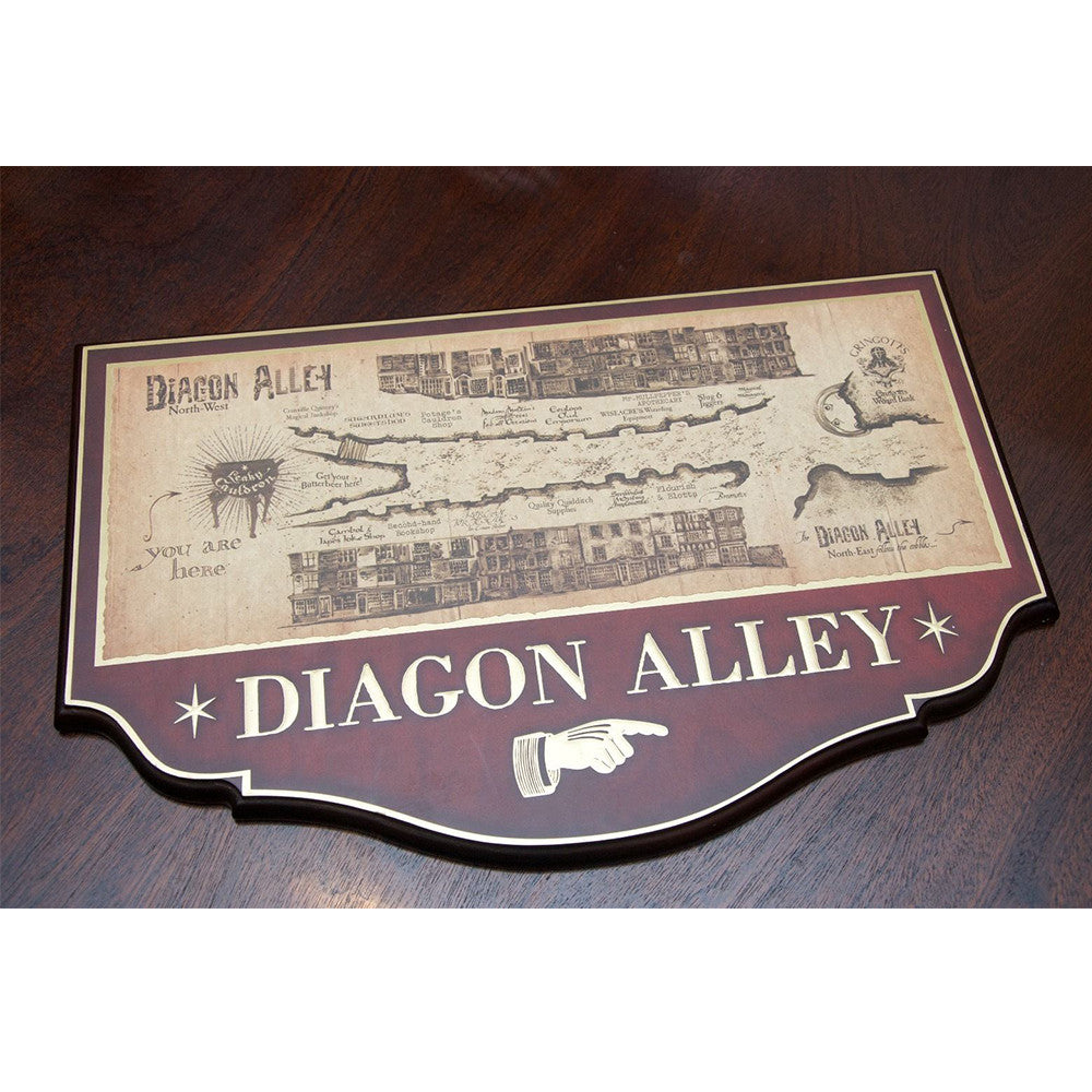 Diagon Alley Wall Plaque