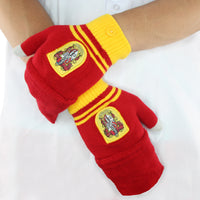 Gryffindor Mitten gloves red harry potter