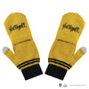 Hufflepuff fingerless gloves harry potter