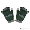 Slytherin Mitten/fingerless gloves harry potter