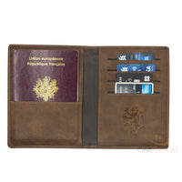 Gryffindor passport holder