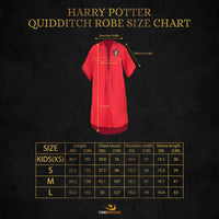 Personalized Gryffindor Quidditch Robe
