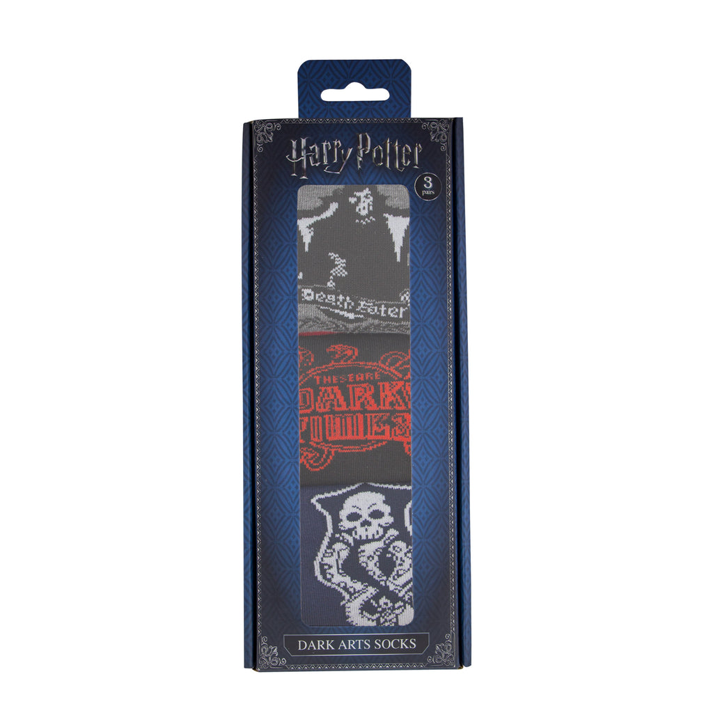 Harry Potter Socks Dark Arts packaging