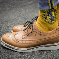 Harry potter crest socks - hufflepuff socks
