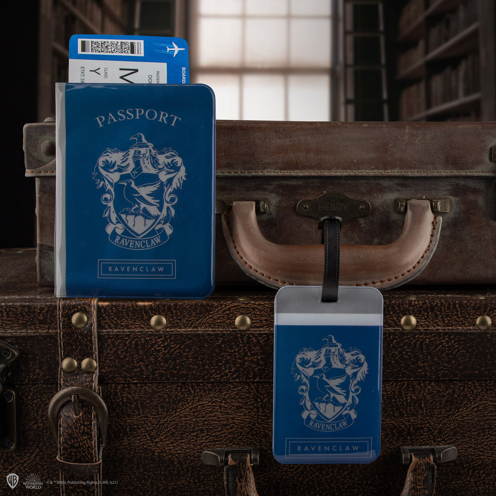 Luggage Tag & Passport Cover set - Ravenclaw