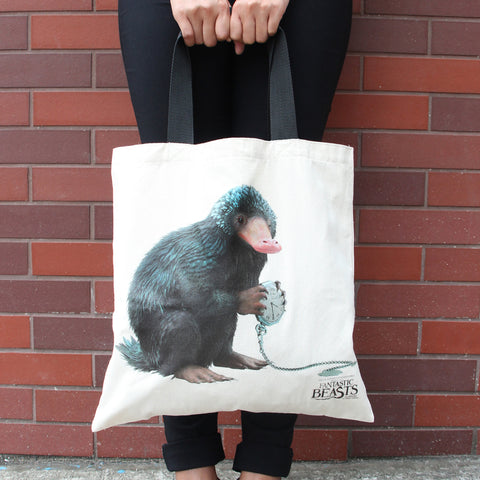 Niffler Tote Bag - fantastic beasts and where to find them