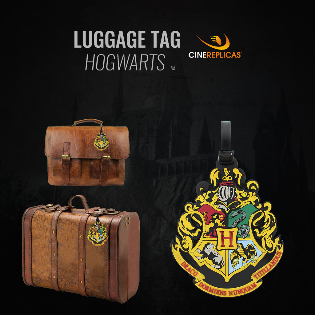 harry potter hogwarts luggage tag