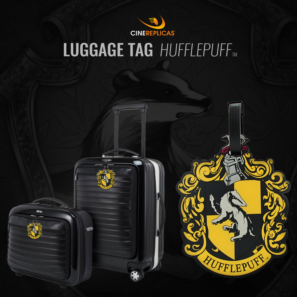 Hufflepuff luggage tag