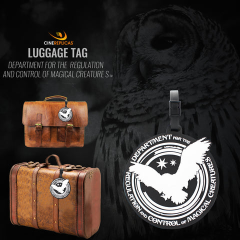 Department for the Regulation and Control of Magical Creatures Luggage Tag