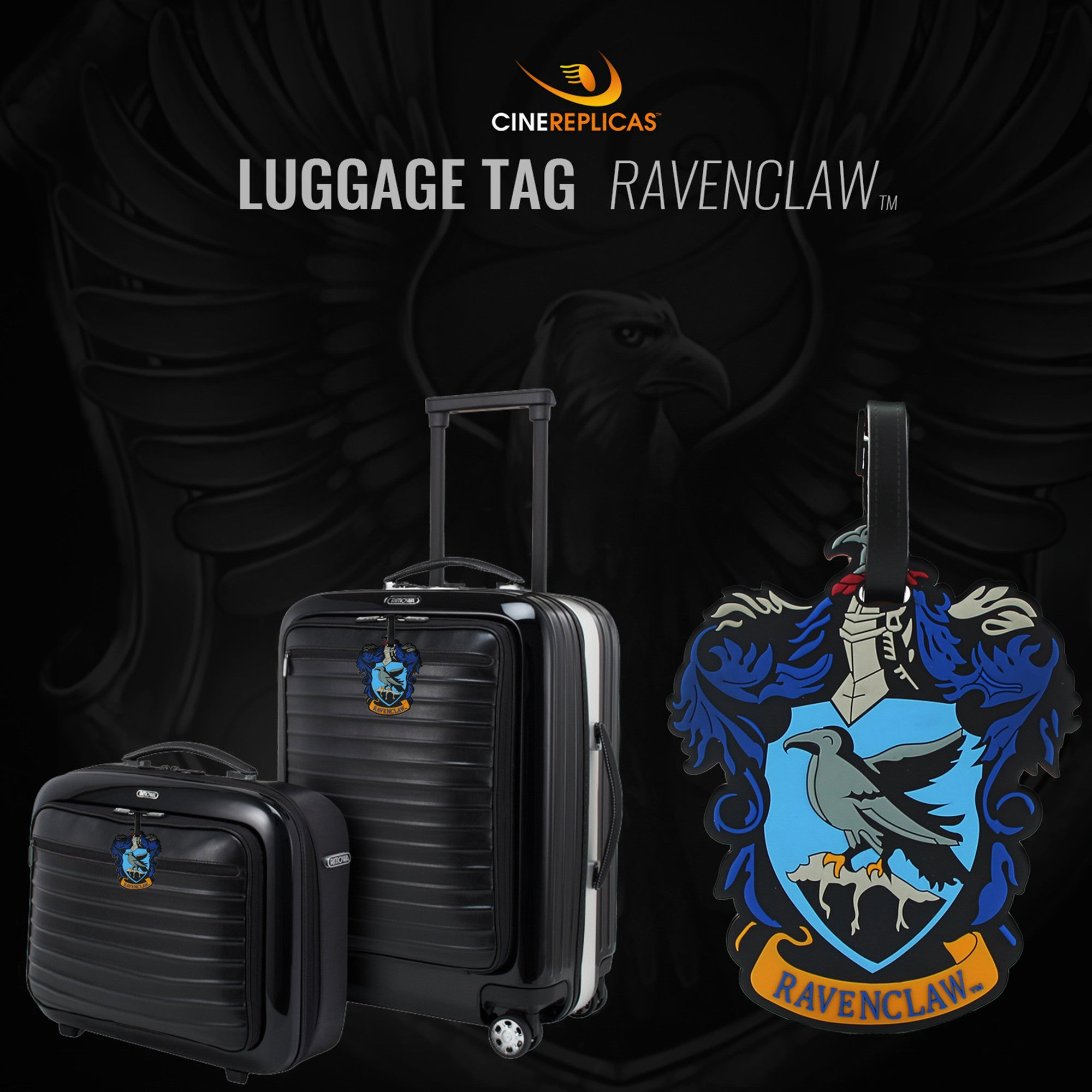 Hogwarts School of Witchcraft and Wizardry Travel Bag Luggage Tags
