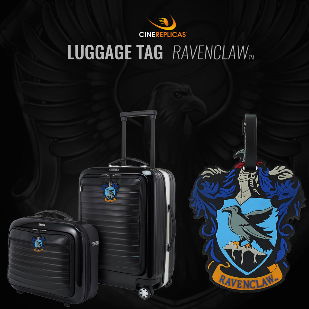 harry potter ravenclaw luggage tag
