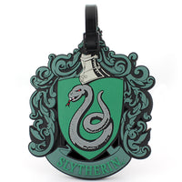 slytherin luggage tag (harry potter)