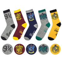 Crest socks Harry potter