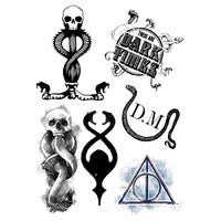Harry Potter tattoo dark arts