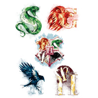 Harry Potter tattoo Hogwarts house