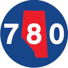 ALBERTA 780 BAT KNOB DECAL