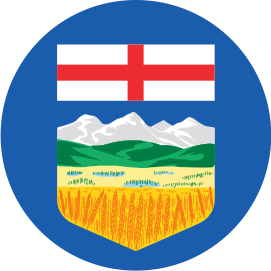 ALBERTA FLAG KNOB DECAL