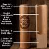 "Colorado Rockies ""CR"" Dugout Mug® 
