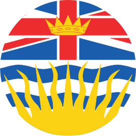 BRITISH COLUMBIA KNOB DECAL