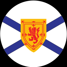 NOVA SCOTIA KNOB DECAL