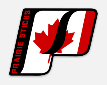 LARGE CANADA PS BAT DECAL
