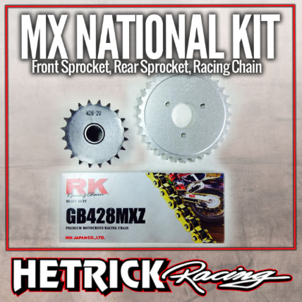 MX National Chain & Sprocket Kit - Polaris Predator 90