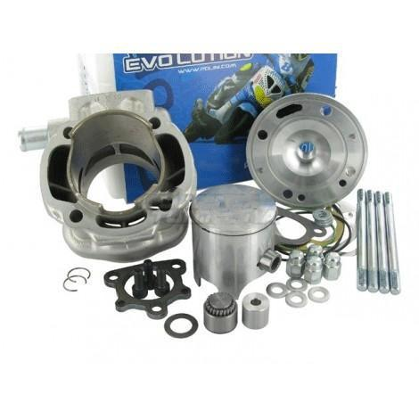 Cylinder kit polini Big Evolution 84cc Minarelli Horizontal LC - Hetrick Racing