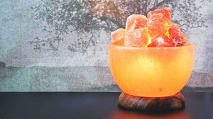 Himalayan Salt Lamps in all shapes and sizes