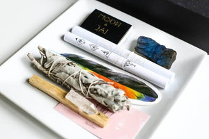 Smudge kit for manifestation