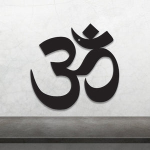 Metal Om Symbol mindful meditation gear