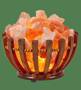 chunk salt lamp bowl