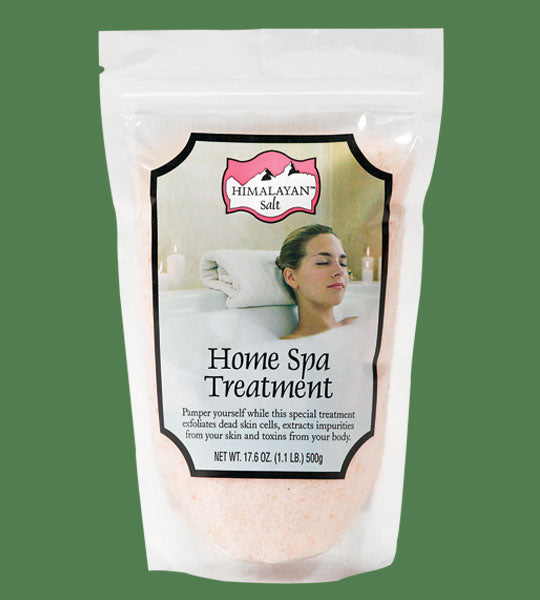 pink salt spa treatment