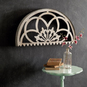 metal arch wall hanging